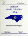 State of North Carolina uniform crime report