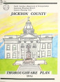 1994 thoroughfare plan for Jackson County, North Carolina