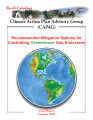 Recommended mitigation options for controlling greenhouse gas emissions : final report, October...